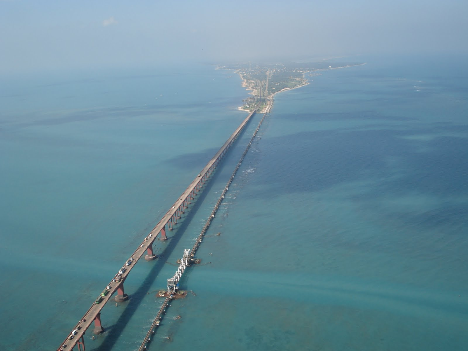 Rameswaram India  city photo : pamban bridge rameshwaram